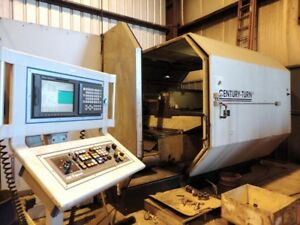72 Tbl New Century Mfg Turn 60 Vertical Boring Mill