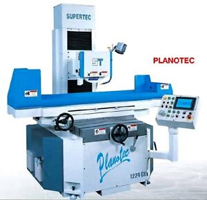 12 W 24 L Supertec Planotec 1224nc Surface Grinder 3 axis Automatic 7 5 Hp
