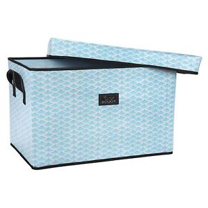 Scout Rump Roost Large Lidded Storage Bin Collapsible And Stackable Reinf
