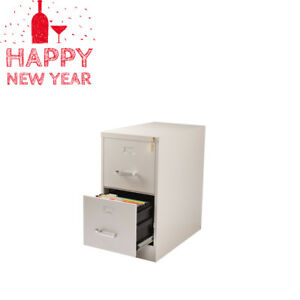 2 drawer Office Cabinet 26 5 deep Commercial Metal File Cabinet With Lock