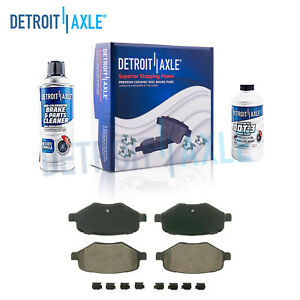 Rear Ceramic Brake Pads For Ford Edge Explorer Flex Taurus Lincoln Mks Mkt Mkx