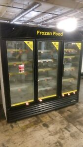 True Gdm 72f 78 Glass Door Reach In Freezer