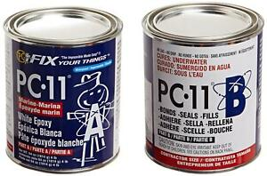 Pc Products 640111 Pc 11 Two part Marine Grade Epoxy Adhesive Paste 4 Lb In Two