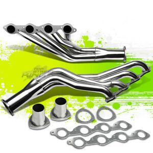 For 396 402 427 454 Big Block Bbc V8 Exhaust Manifold Long Tube Racing Header