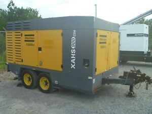 2011 Atlas Copco Air Compressor 150 Psi 900 Cfm Cat C9 Diesel