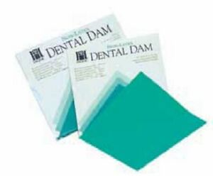 Rubber Dam 6 X 6 Latex Free Package Of 15 Coltene h09105