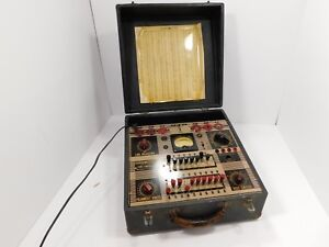 Ge General Electric Tc 3 Vintage Tube Tester For Parts Or Restoration