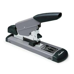 Swingline Deluxe Heavy Duty Stapler 160 Sheet Paper Thick Capacity Office Black