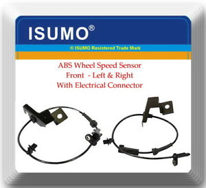 2 Abs Wheel Speed Sensor Front Right Left Fits Ford Fusion Lincoln Mkz 13 18