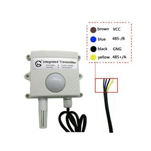 Four In One Light Temperature And Humidity T h Co2 Transmitters 485 Output