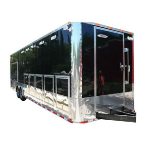 Concession Trailer 8 5 x30 Vending Food Event Catering black