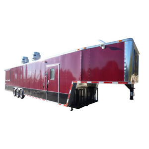 Concession Trailer Brandywine 8 5 X 43 Bbq Smoker Catering Event Trailer