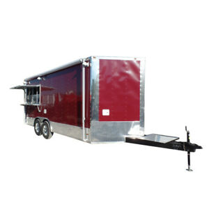 8 5 X 18 Concession Food Trailer Brandy Wine Event Catering