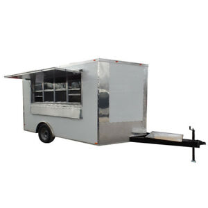 Concession Trailer 8 5 X 12 White Event Catering Food