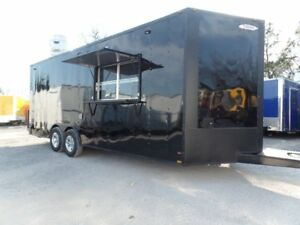 8 5x22 Food Catering Event Concession Trailer
