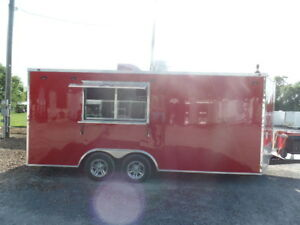 8 5 X 18 Pizza Concession Food Trailer With Appliances