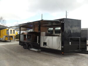 8 5 X 20 Pizza Event Concession Food Trailer With Appliances
