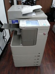 Canon Imagerunner 4025 Printer Copier Scanner B w Mfp Low Meter