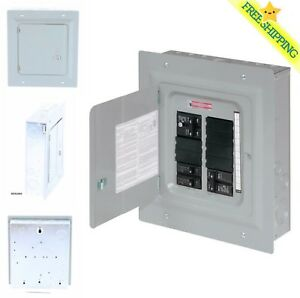 Eaton 100 amp 10 spc 20 circuit Garage Home Indoor Small Main breaker box Panel