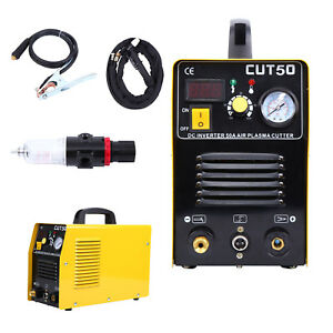 Commercial Cut50 Portable Lcd Digital Plasma Cutter Metal Processing Machine