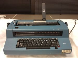 Vintage Ibm Correcting Selectric Iii Electric Typewriter Works Blue 8315s