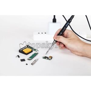 Mini Digital Iron Soldering Station Usb Type c Qc3 0 Oled Temperature Adjustable