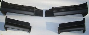 Buick Grand National t type regal Full 4pc Bumper Filler Set 1981 1987 Fiberglas