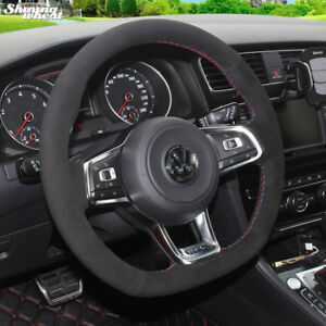 Steering Wheel Cover For Volkswagen Golf 7 Gti Golf R Mk7 Vw Polo Gti Scirocco