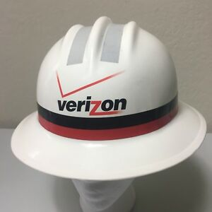 Verizon Atlantic Telephone Lineman Hard Hat Helmet