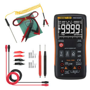 Q1 Digital Multimeter Voltmeter Ammeter Ac Dc Ohm Tester Lead Probe Wire