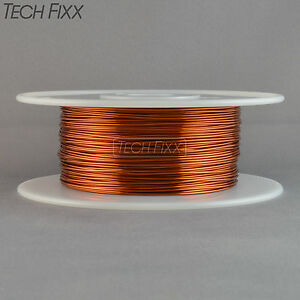 Magnet Wire 18 Gauge Awg Enameled Copper 400 Feet Generator Coil Winding 200c
