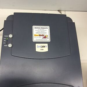 Graphic Products Dura Label 4 Thermal Transfer Printer d