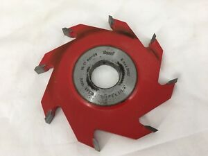 Freud Cutting Tool Model Up178 Freud Up178 8 wing Groove Cutter For Shaper
