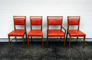 A Set Of Four Dining Chairs By Paul Mccobb