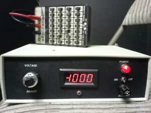 Adjustable High Voltage Dc Power Supply 0 To 1000v Tested 4 Ma Remote Control