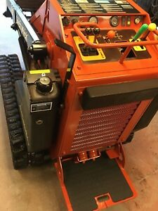 Mini Skid Steer Ditch Witch Sk650 Walk Behind Skidsteer Loader