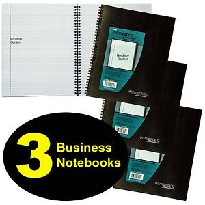 3 Each Mead 06062 Cambridge Limited Business Notebook 11 X 8 1 4 80 Sheets