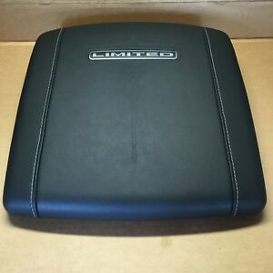 Genuine Oem Dodge Ram Center Console Lid Limited Natural Leather Black