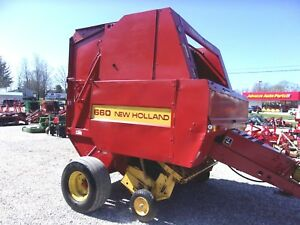 New Holland 660 Round Baler Bale Command Size 5 X 6 Can Ship 1 85 Mile