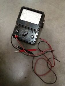Simpson 260 Series 3 Overload Protection Multimeter Volt ohm Analog Vom
