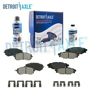 Front Rear Ceramic Brake Pads Kit For Subaru Forester Impreza Legacy Outback