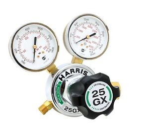 Harris 25gx Single Stage Oxygen Regulator 25gx 145 540 3000510 free Shipping