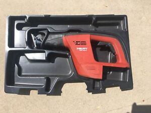 Hilti Wsr 650 a 24v Cordless Saw tool Only