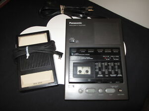 Panasonic Rr 970 Microcassette Transcriber W Foot Pedal Refurbished New Belt