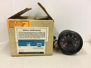 Gm General Motors Chevy Chevrolet Factory Tach Tachometer Gmc 10185001