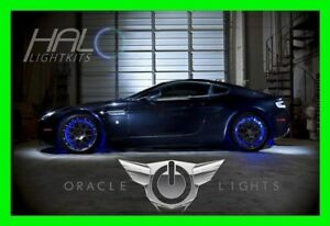 Blue Led Wheel Lights Rim Lights Rings By Oracle Set Of 4 For Mini Cooper