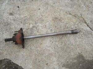 Farmall Super M Tractor Pto Assembly Input Shaft