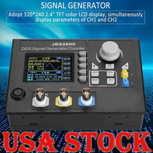 60mhz Dds Function Arbitrary Waveform Signal Generator Software Kit Us Jds2800