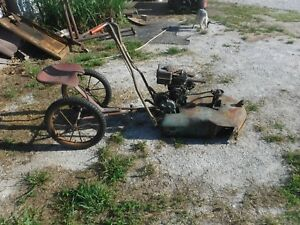 1950s Vintage Snappin Turtle Lawn Mower Great Condition Briggs Engine