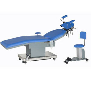 Electric Ent Examination Operation Table Leather Movable Supports For Doctor
